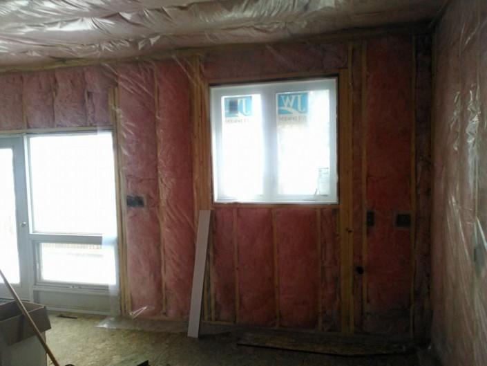 Insulation-windows-Tri square construction