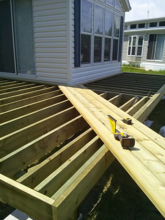 Tri Square Construction-Building a deck